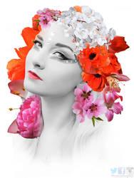 FLORAL DESIGN ART MANIPULATION by PhotoshopNJ