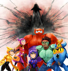 Big Hero 6 by robotoco