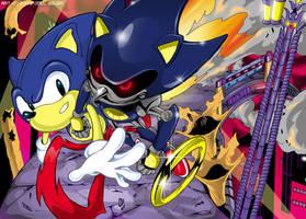 Sonic CD - Stardust Speedway by Joelchan