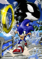 Sonic Adventure Emerald Coast by Joelchan