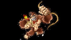 Donkey Kong by Joelchan
