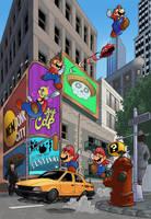 Super Mario Odyssey by Joelchan