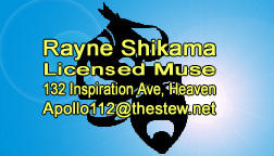 My Card by RayneShikama