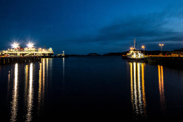 Stornoway Harbour by whitephotographySCOT