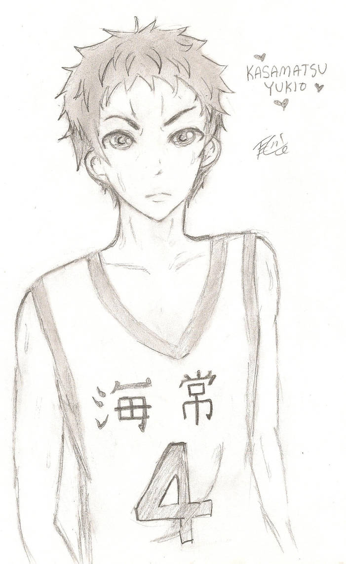 Kasamatsu Yukio by reonin12