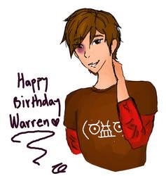 Happy Birthday Warren by reonin12