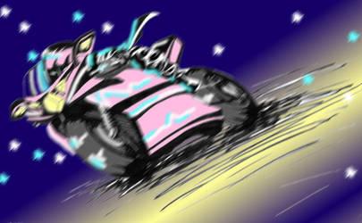 Pink Demon by Tinselcat