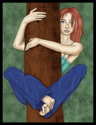 Tree Hugger - Color by ranjha