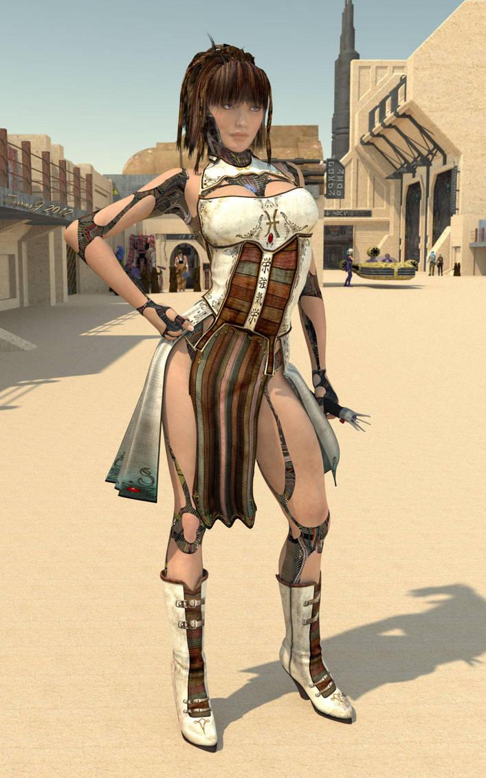 Tessla, Iron Knight by Jadeonar