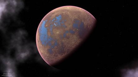 Planet 00029 by Jadeonar