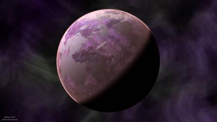 Planet 00034 by Jadeonar