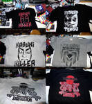 Screen Printed T-Shirts by Kk-Man