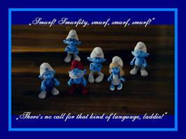 Smurfity by LeelaComstock