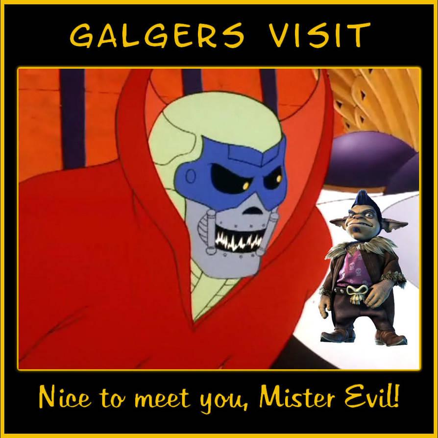 Galgers Visit by LeelaComstock