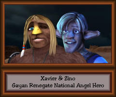Gayan Renegate National Angel Hero by LeelaComstock