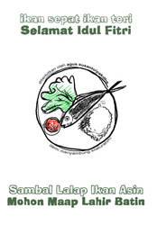 sambel lalap ikan asin by smokingroom