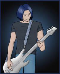 Gorgeous Bassist by KakiBonham