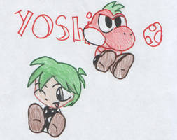 A real boy-Yoshi by emeraldpanda
