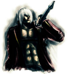 DMC 3- Dante speedpaint by helioart