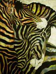 Zebras by LittleDemon74