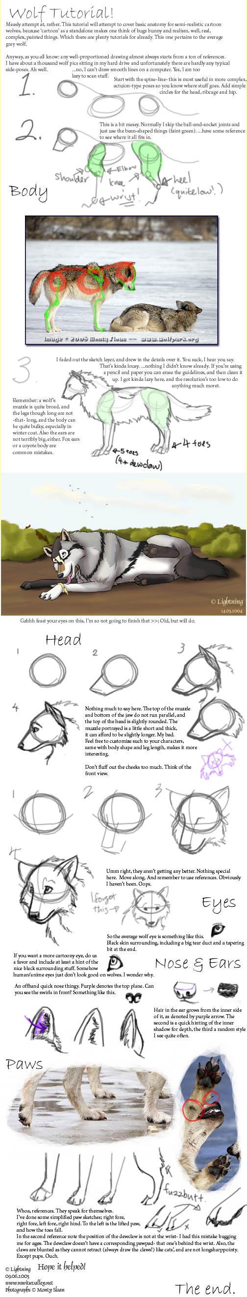 Wolf Tutorial by blayrd