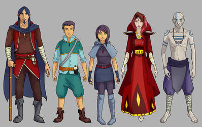 Blood Pact: Main cast by blayrd