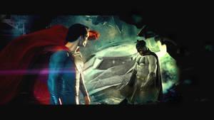 Batman Superman by rocketman28