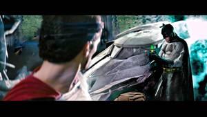 superman vs batman 1st look at kryptonite by rocketman28