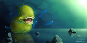 The Spirit Pear by ImaginaryRat