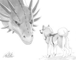 ImaginaryAugust - Dragon Slayer by ImaginaryRat