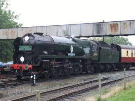 Southern 34053 Sir Keith Park by DaveOnTheRails