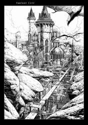 Fantasy City - Final by MiG-05