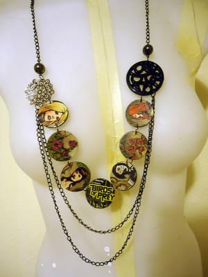 Birds of Prey Necklace by lilmejuju