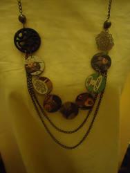 Birds of Prey: Huntress Necklace by lilmejuju