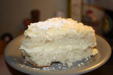 Lemon Cream Cake by lilmejuju