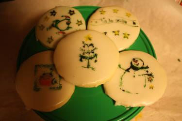 Christmas Sugar Cookies by lilmejuju