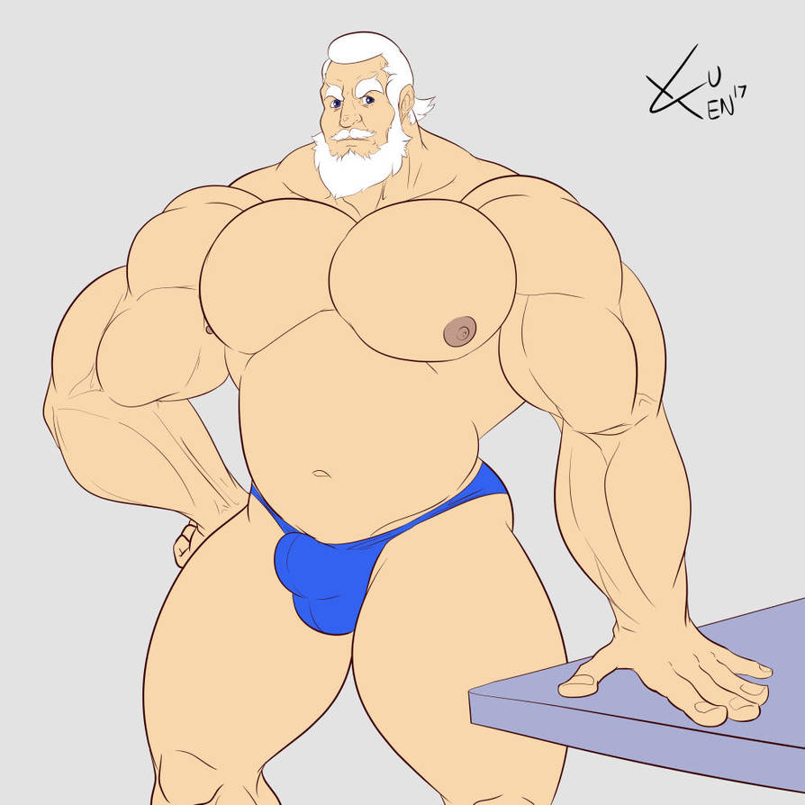 May Muscle Growth: Jean (Part 1/4) by DSz