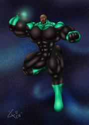 June Fanart: Green Lantern by DSz
