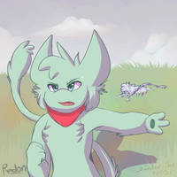 Radon the Mew by Zander-The-Artist