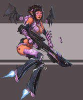 Bubblegum Sniper by ionen