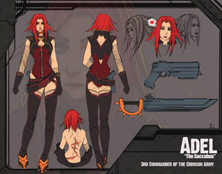 Adel Character Sheet by ionen