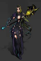 Commission: Dark Priest by ionen