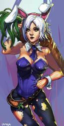 Bunny Riven by ionen