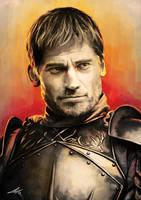 Ser Jaime - Lord Commander of the Kingsguard by HunDrenus