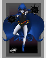 Raven, Teen Titans by slicerzumkaro