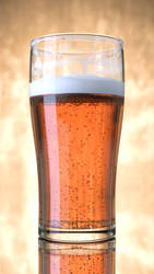 Beer Glass by abluescarab