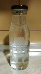 Botella Golgari (mtg) by CarolsFactory