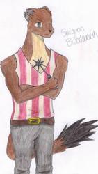 Colored Pencil: Mr. Bloodworth by Bucketfox