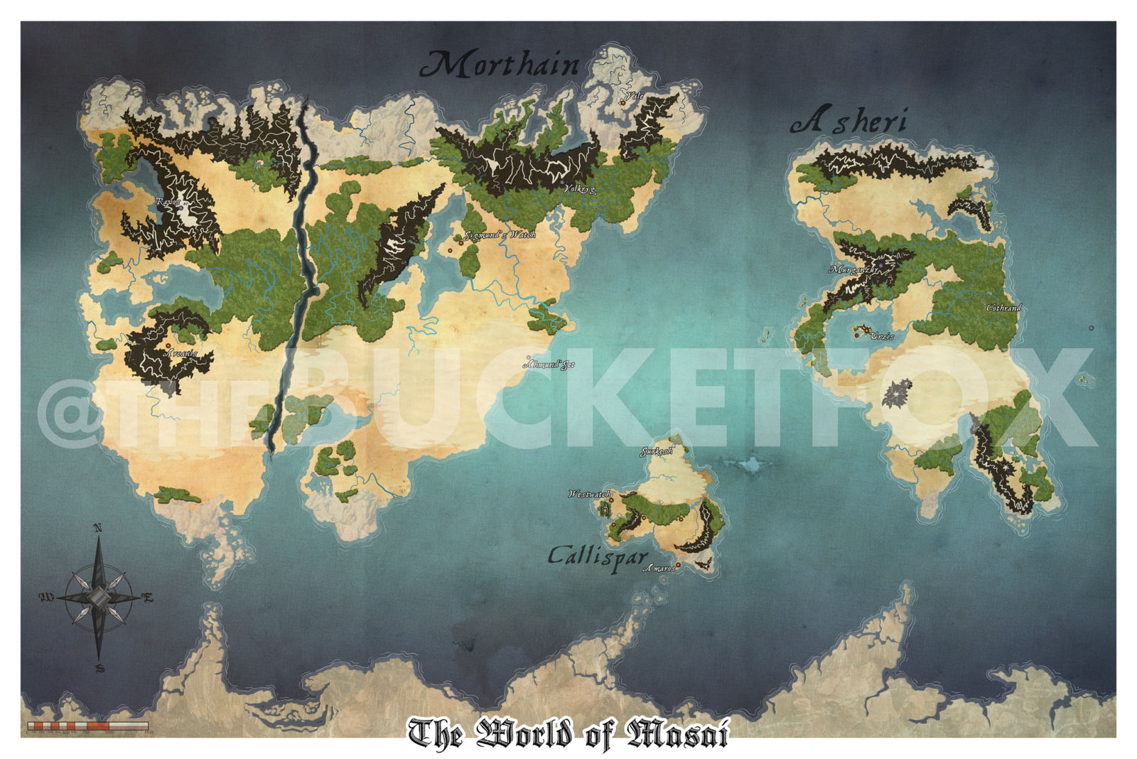 The World of Masai by Bucketfox