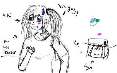 Kiki Sketch by RyuLuna